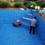 Ремонт бассейнов с покрытием из ПВХ